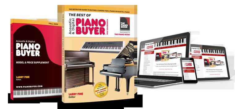 Piano Buyer Books